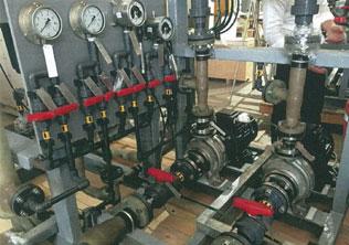 Booster System at Trilinq Condo